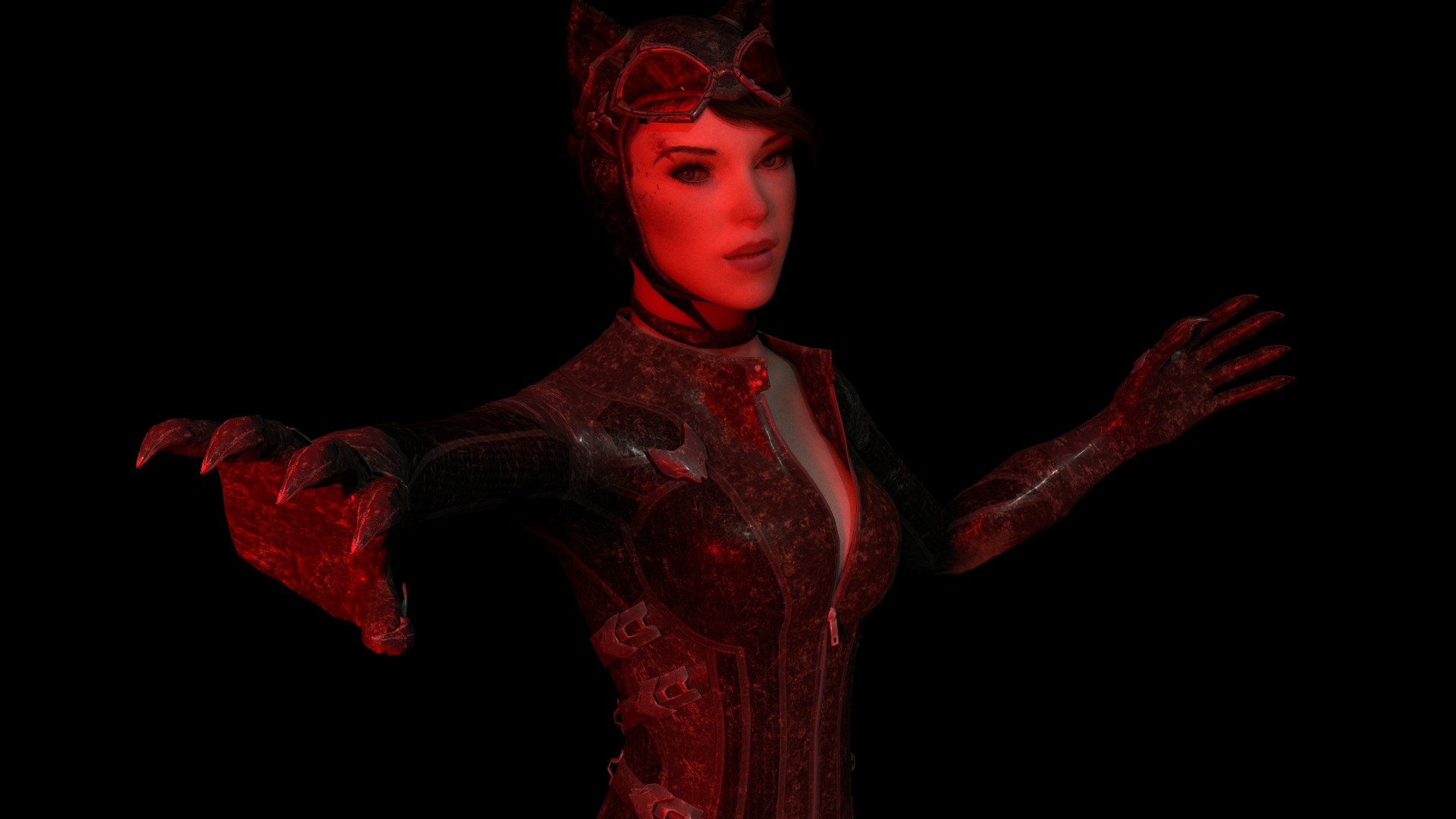 Catwoman Arkham Knight By TheBlenderTaper