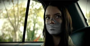 Anya Taylor Joy Tape Gagged 3 by TheBlenderTaper