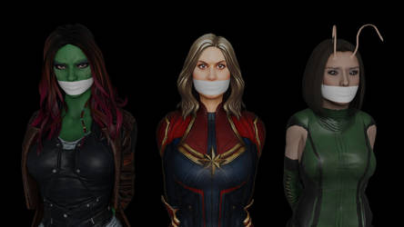 Damsels of the Galaxy by TheBlenderTaper