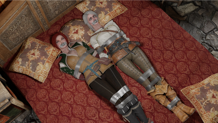 Triss and Ciri Bedtime