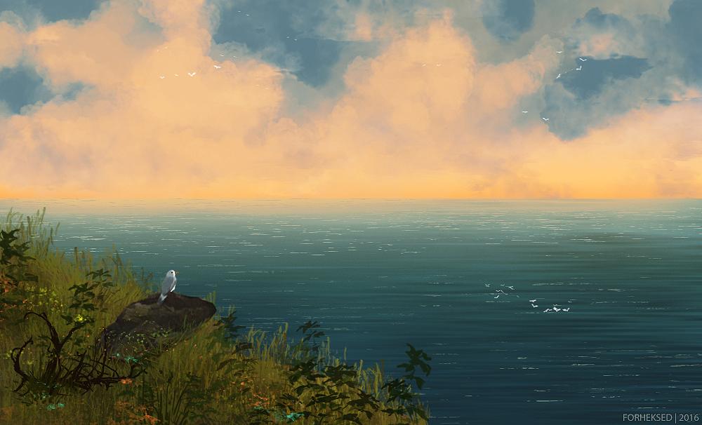 sunset by Forheksed