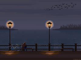November evening by Forheksed