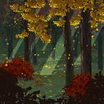 Pixel autumn