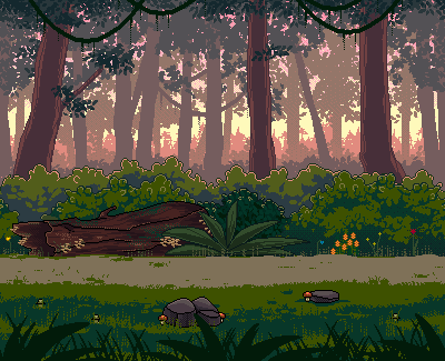 [C] Forest in the Early Morning by Forheksed
