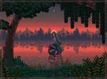 Forest mermaid [mermay pixels]