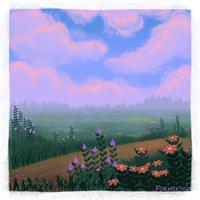 <b>Violet Sunset</b><br><i>Forheksed</i>
