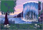 [C] Waterfall
