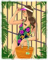 <b>Beach Girl</b><br><i>Forheksed</i>