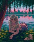 River mermaid by Forheksed