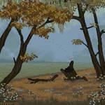 another autumn pixel art
