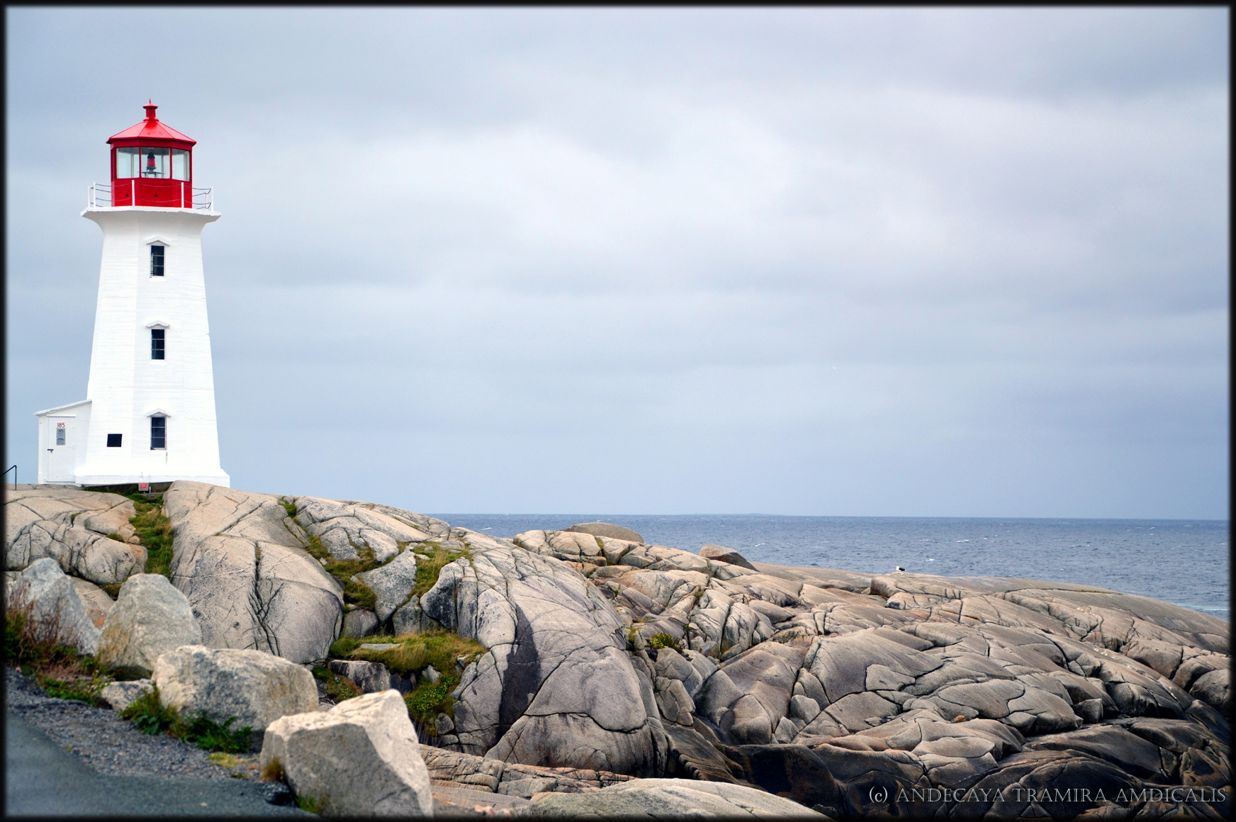 Peggy's Cove I by Tramira