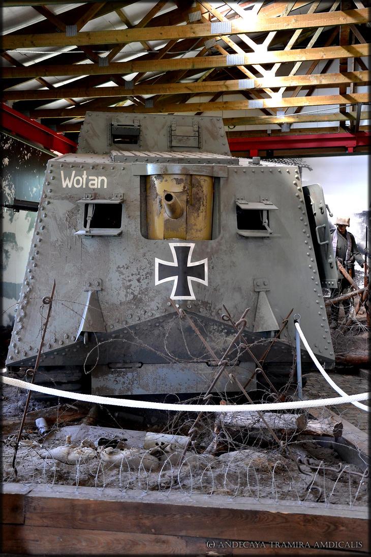 Wotan - A7V - Panzermuseum Munster II by Tramira