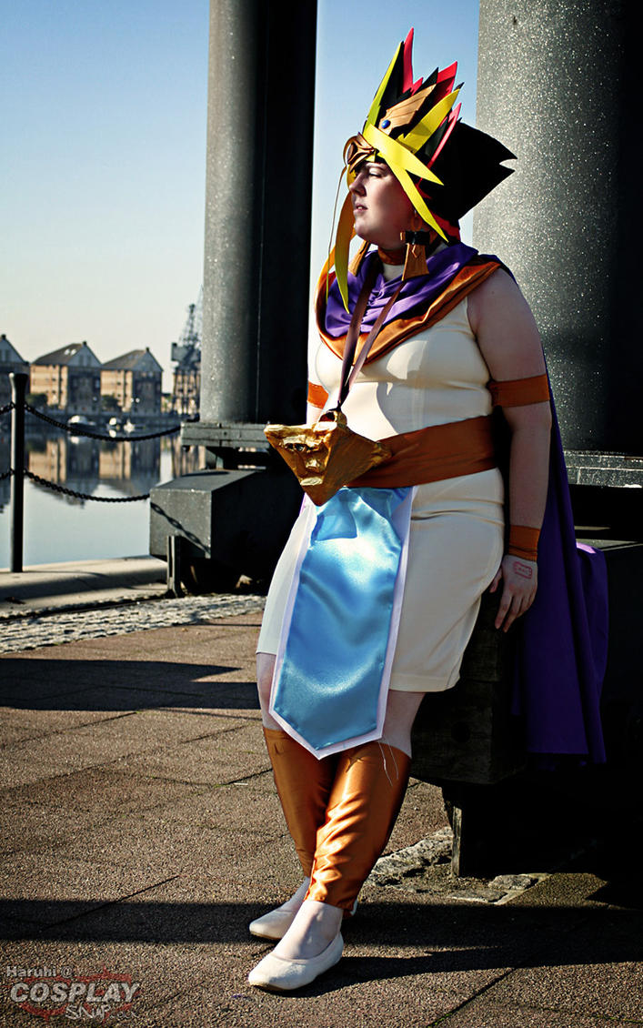 Pharaoh Atem-Waiting..... by MangaGirl232