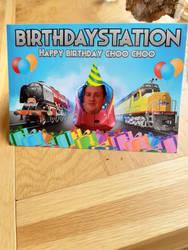 30th birthday card from Rachael