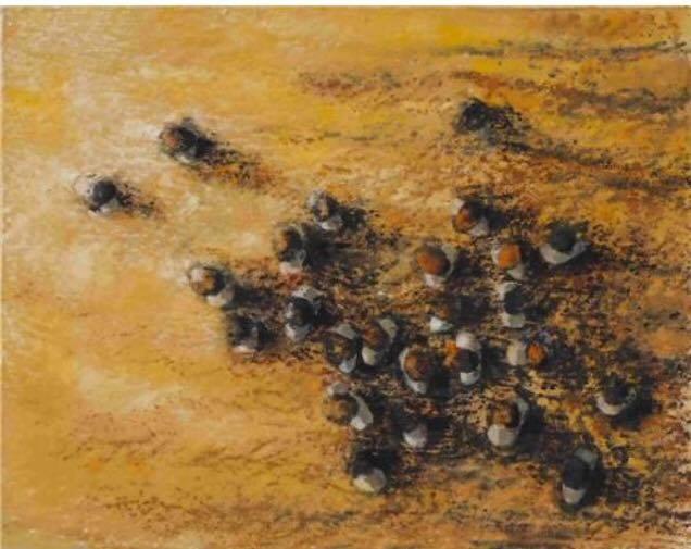 ''Diyalog'' 2013 79x100 by cananunal