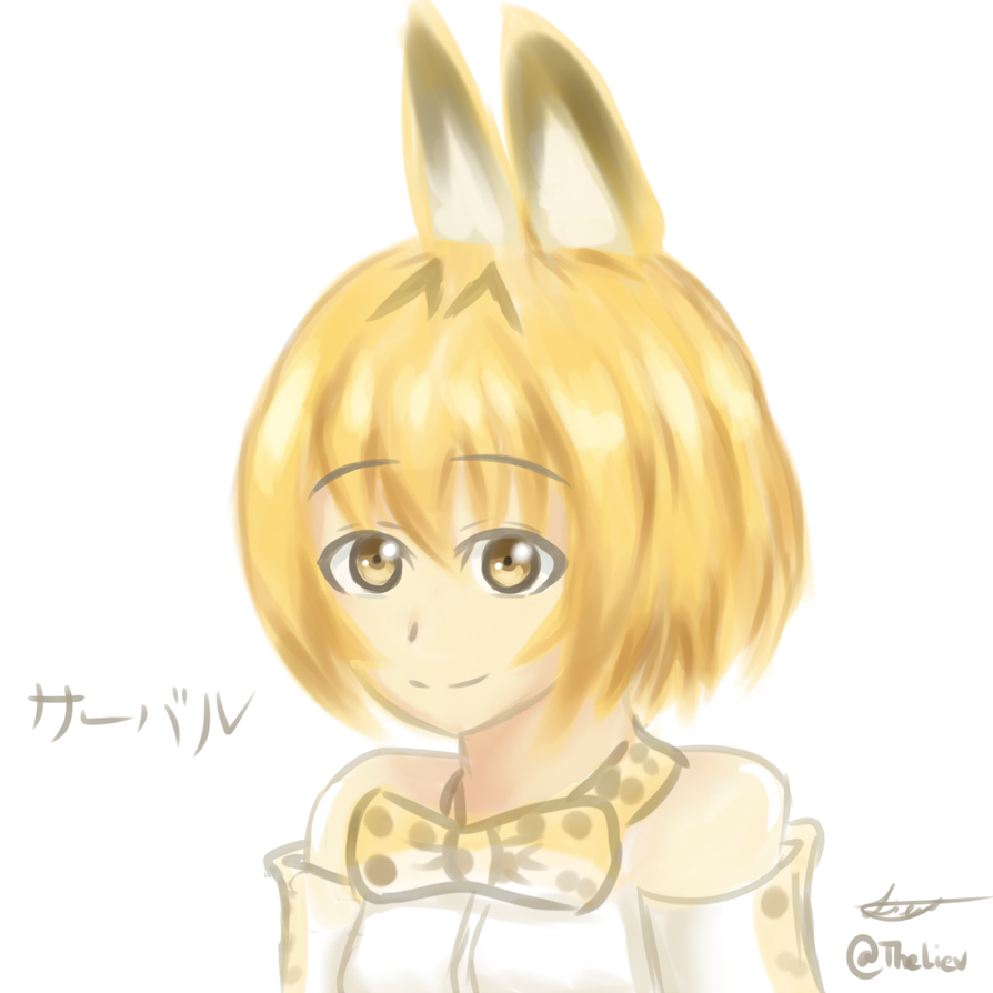 Serval-chan by TheLiev