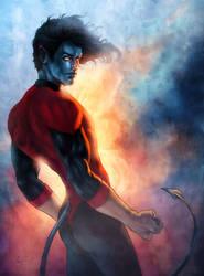 Xmen: Nightcrawler by annecain