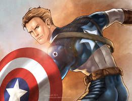 Captain America by annecain