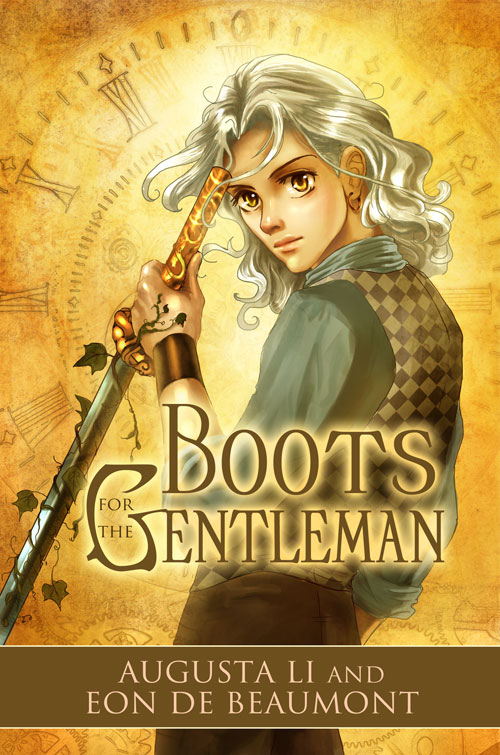 Cover art: Boots for Gentleman by annecain