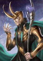 Avengers: Loki by annecain