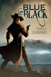 Cover art: Blue on Black