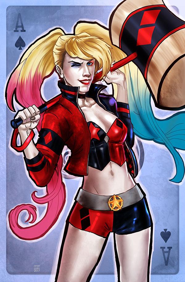 Harley Quinn by annecain