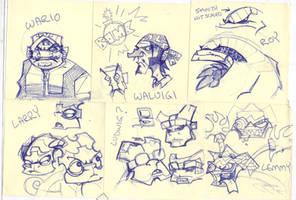 Mario Post-it Dump 001