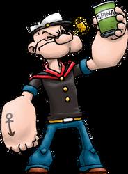 Popeye (Popeye) by Hologramzx