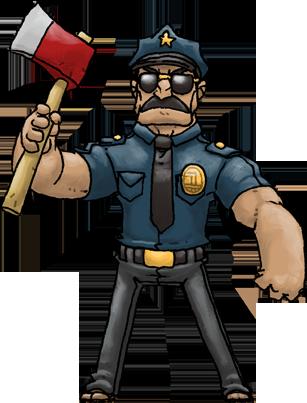 Axe Cop (Axe Cop) by Hologramzx