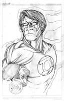 Green Lantern, Hal Jordan by victoroil