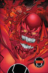 Red Lantern Atrocitus color by victoroil