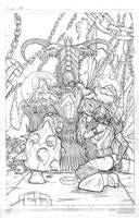 Lord Hellspawn final pencils by victoroil