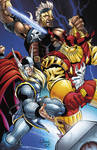 Thor, Ares and Kurse color
