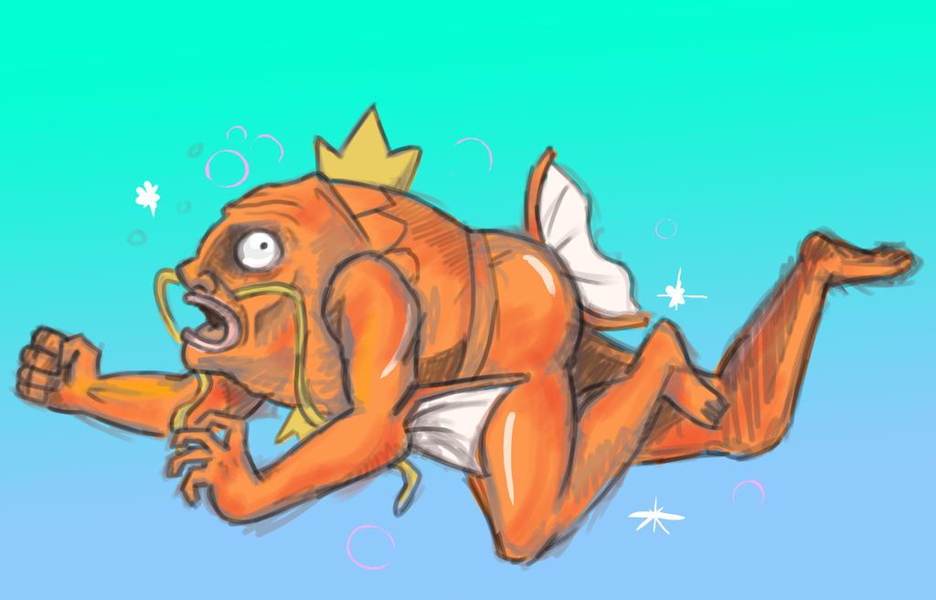 MegaIniciales    (mas) Pokémon X/Y  Magikarp_Evolved_into___OH_GOD_by_KimchiCrusader