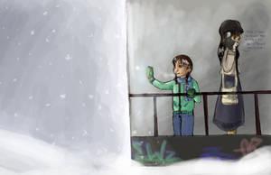 Snow Exhibit by KimchiCrusader