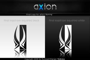 aXion Gaming Logo + Logotype by tobimo