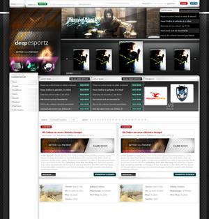 Design for Clansite of deepesportz