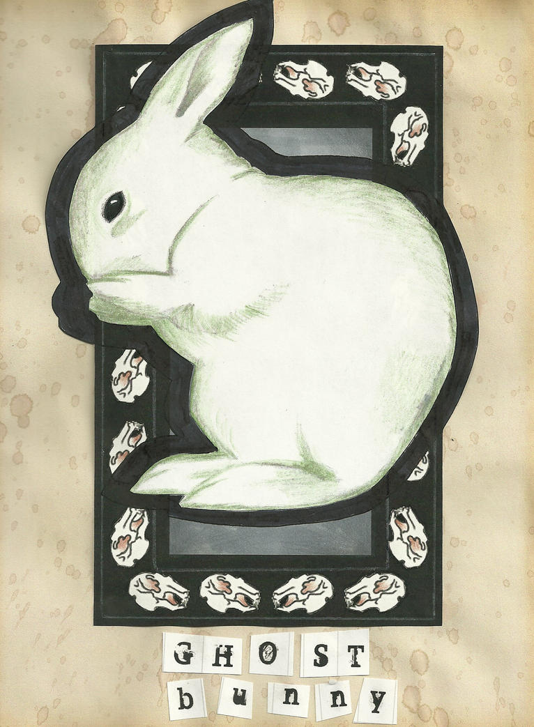 Ghost Bunny by Kari-Anderson