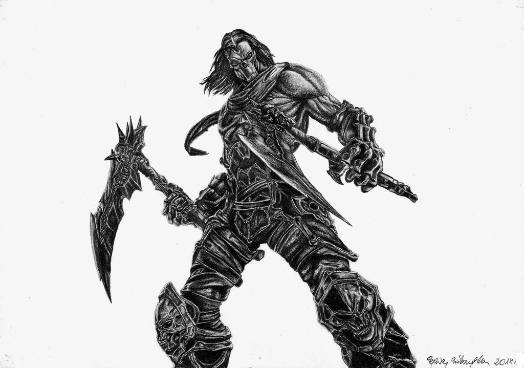 Darksiders Death by Arpmadore