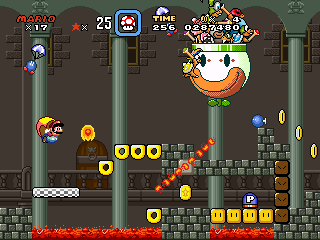 Super Mario Quest World 8 Boss Castle by Snivy101