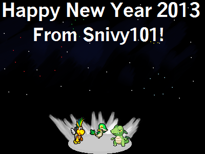 HAPPY NEW YEAR! 2013 by Snivy101