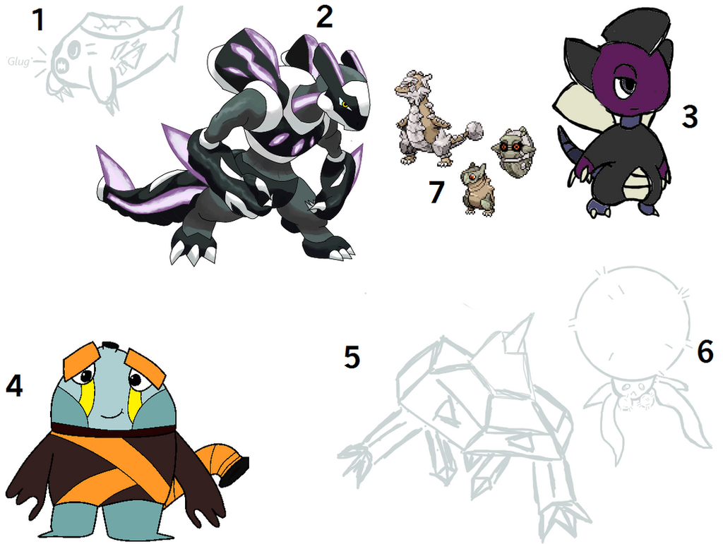 February Fakemon Auction CLOSED by Snivy101