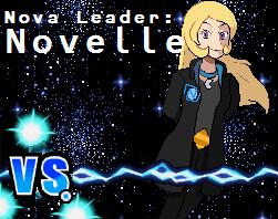 VS Team Nova Leader Novelle by Snivy101