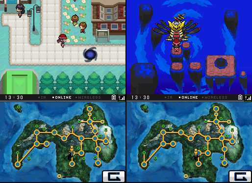 Behold the Banished Giratina! by Snivy101