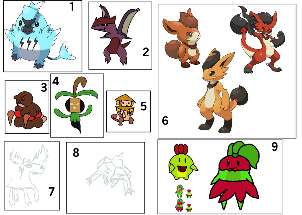 February 2014 Fakemon Auction OVER!!! by Snivy101