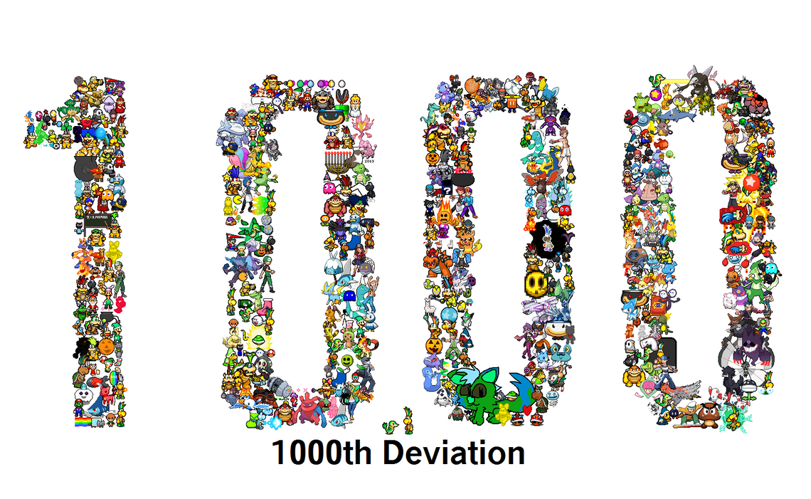 1000th Deviation by Snivy101