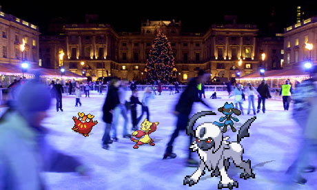 Advent 17: Ice Skating Rink by Snivy101