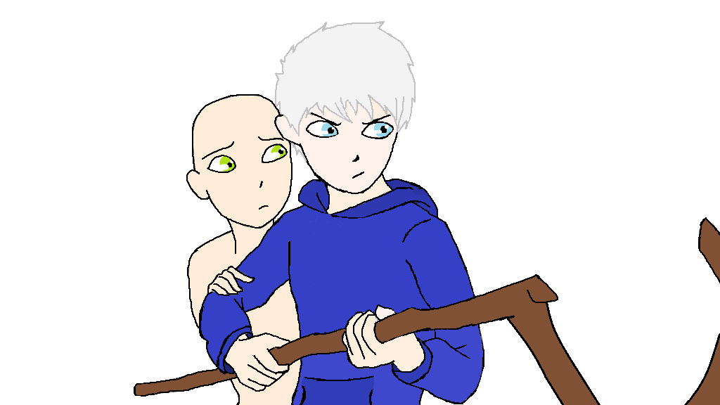 Jack Frost Scared Jack Frost oc Base by