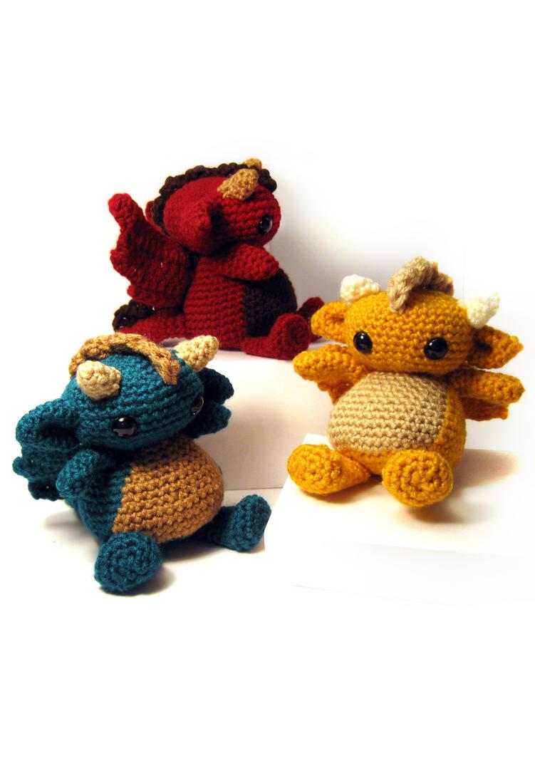 Dragon Rojo Amigurumi : dragon Fun Stuff Pinterest