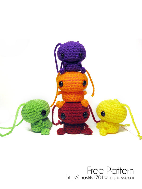 Skittles Amigurumi - Free Pattern by ex-astris1701 on ...